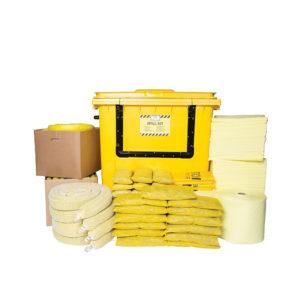 Kit Essentials di Gestione delle Fuoriuscite di Prodotti Chimici