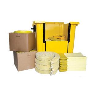 Kit Essentials di Gestione delle Fuoriuscite di Prodotti Chimici interno