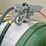 PIG® – Rotoli Rip-&-Fit® Tampone Pretagliati applicazione