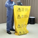 PIG®- Sacco in polietilene per smaltimento multilingue