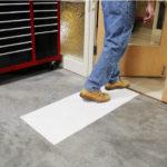 PIG® – Tappetino Monouaso – Sticky Steps® Mat applicazione