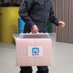 PIG® – Valigetta con Chiusura a Clip per Kit Fuoriuscite Prodotti Chimici – Essentials 30 L trasporto