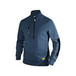 Diadora-Utility-Felpa-Sweatshirt-Litework-Half-Zip-Blu-Classico-scaled
