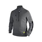 Diadora-Utility-Felpa-Sweatshirt-Litework-Half-Zip-Grigio-Acciaio-scaled