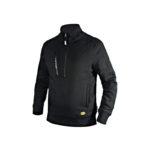 Diadora-Utility-Felpa-Sweatshirt-Litework-Half-Zip-Nero-scaled