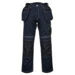 Portwest-Pantalone-Da-Lavoro-Holster-PW3-T602-Blu-Navy-Nero