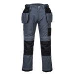Portwest-Pantalone-Da-Lavoro-Holster-PW3-T602-Grigio-Nero
