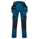 Portwest-Pantalone-Holster-Tasca-Rimovibile-DX4-DX44-Blu-Metro
