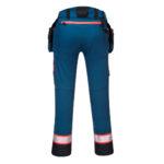 Portwest-Pantalone-Holster-Tasca-Rimovibile-DX4-DX44-Blu-Metro-Retro