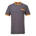 Portwest-T-Shirt-Bicolore-Texo-Contrast-TX22-Grigio